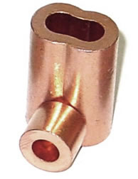 Copper Stops and Oval Sleeves